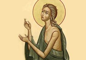 Подвиг віри Марії Єгипетської