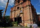 Дзвін-благовісник вже на дзвіниці нашого храму: фото, відео