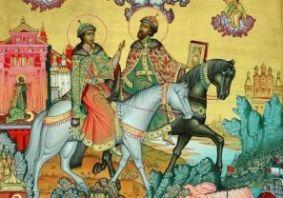 о.Віктор Маринчак про святих Бориса і Гліба (відео)
