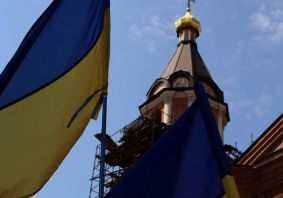 Молебень за Україну (відео)