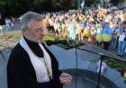 Виступ о.Віктора на День Незалежності :відео (архів)